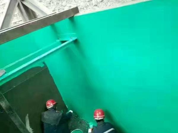 脱硫塔玻璃雷竞技官网网站防腐施工